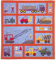 """""""Under Construction"""" Quilt Pattern by Claire Oehler"""