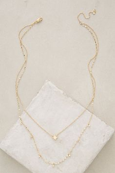 Poemas Layer Necklace #anthropologie