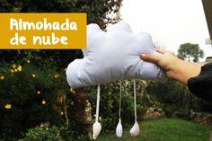 Como hacer un cojin con forma de nube