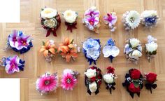 DIY PROM/FORMAL ARTIFICIAL CORSAGE AND BOUTONNIÈRE SETS