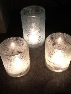 Epsom Salt Candles - DIY