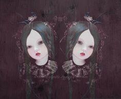 """Nightingale"" by Louise Robinson (aka Art & Ghosts)"