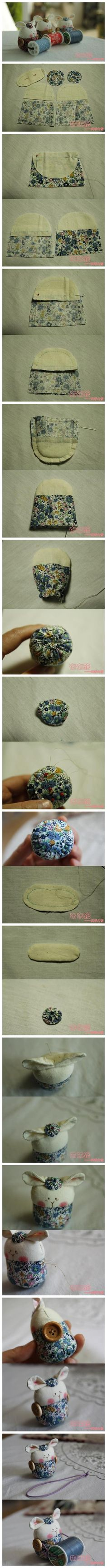 pincushion and thread cddy