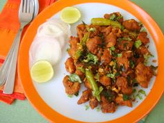 Indian foods: how to make chicken 65 recipe dry crispy masala cu...