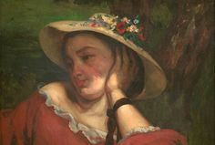 Gustave Courbet, Woman with Hat
