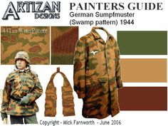 ww2 german vehicle camouflage patterns - Google Search