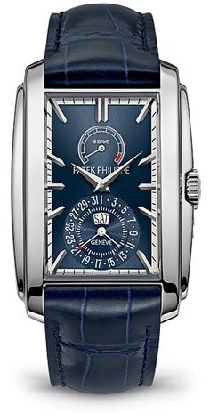 """The Watch Quote: The Patek Philippe Gondolo """"8 Days, Day & Date Indication"""" Ref. 5200 watch - Energy for more than a week"""