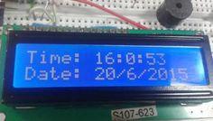 Arduino Based Digital Clock with Alarm