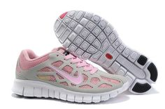 Nike Free Run +3 Grey Pink