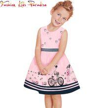 Baby Girl Vestidos 2015 Marca Niñas ropa del verano de vestir para niños Vestidos de la princesa de los niños del vestido de los niños vestidos para Chicas Ropa (China (continental))