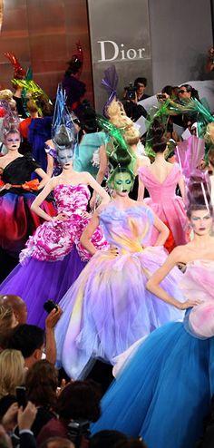 Christian Dior Haute Couture, Fall 2010