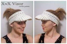 365 Crochet!: XvX Visor -free crochet pattern-