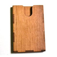 Wooden Business Card Holder By Mgb