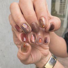 Asian Nails, Japanese Nail Art, Nail Polish Art, Nail Inspo, Diy Nails, Pretty Nails, Pedicure, Nail Colors, Finger