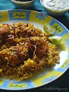 Restaurant Style Hyderabadi Chicken Biryani | Easy Chicken Biryani Recipe