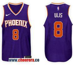 Men s Nike NBA Phoenix Suns  8 Tyler Ulis Jersey 2017-18 New Season Purple  Jersey e969316a3