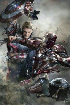 《Civil War / Captain America vs Iron Man》