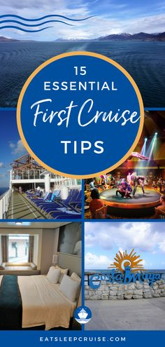 Our Top 15 Cruise Tips for First Time Cruisers | If you're dreaming of a cruise vacation but are worried because you've never been on a cruise before, worry no more. Here we outline our 15 essential cruise tips for your first cruise. These tips are applicable for any major cruise line from Royal Caribbean and Carnival to Disney and Norwegian. You'll never forget your first cruise so make it the best it can be with these tips. #FirstCruise #CruiseTips #CruiseVacation #Cruising