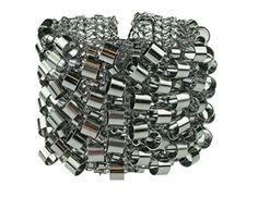 Rock & Roll! Lavish by Tricia Milaneze Gunmetal Tubes Bracelet