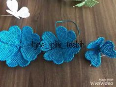 Point Lace, Needle Lace, Lace Making, Fabric Flowers, Hand Embroidery, Diy And Crafts, Crochet Earrings, Make It Yourself, Videos