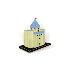 Shop TEATRO DEL MONDO Brooch by Aldo Rossi (#AAR01B) on ACME Studio