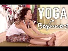 Yoga For Beginners - Gentle Full Body Stretches For Flexibility & Relaxa...