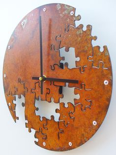 cool clock.... but my OCD wouldn't let me live my life without finding the missing pieces.