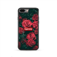 Supreme Roses 2 iPhone 8 Plus Case | Caserisa #iphone8plus,