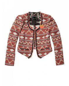 Ikat inspired fashion blazer - Scotch & Soda