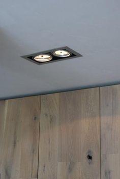inbouwspotjes van new home Stair Lighting, Interior Lighting, Lighting Design, Interior Design Advice, Bathroom Interior Design, Light Architecture, Ceiling Design, Kitchen Lighting, House Design
