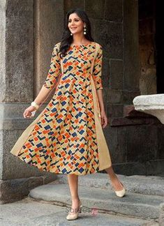 388305c6fe23 Georgette Kurtis Online - Buy Georgette Kurtis For Women In India … Designer  Casual Wear Rayon Printed Wholesale Kurtis Collection 7491  fashion ...