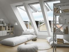 VELUX Skylights | Roof windows | CABRIO balcony GDL | VELUX If we finish the attic, I want to install some of these.