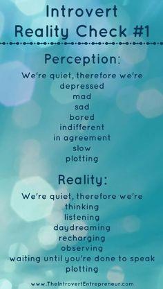 reality check #1