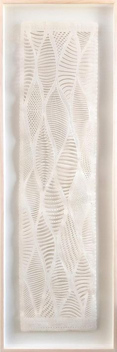 Available for sale, Woven Nostalgia, original wall sculpture by Jo Roets, air-dried clay framed behind glass size 38 x 111 cm. Modern Ceramics, Office Art, Air Dry Clay, Pin Up Art, Triptych, Wall Sculptures, Clay Art, Modern Contemporary, Framed Art