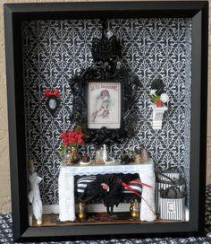 Dollhouse Miniature Room Box / Shadow Box by creativecraftsforU, $150.00