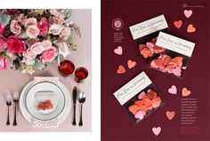 This Issue of It's Love Magazine was inspiring, all the things you look for when planning a wedding, including an adorable DIY confetti favor using seed paper.