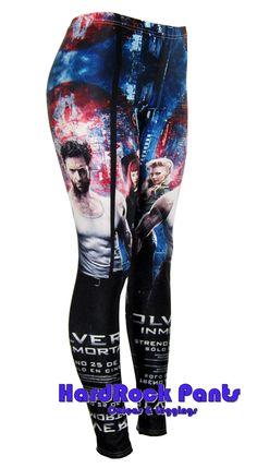 Wolverine Leggings  #wolverine #xmen #leggings #filme #movie