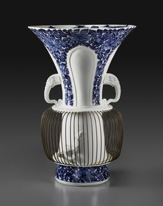"""Pair of """"Birdcage"""" Vases   The Frick Collection"""