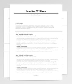 Modern Resume  Cover Letter Template  Page Bundle With Fonts