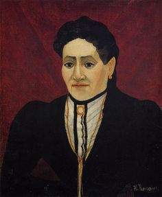 Henri Rousseau: Portrait of A Woman (1905)