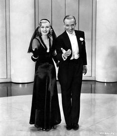 Fred Astaire and Ginger Rogers in Shall We Dance (1937)