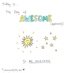 Day of Awesome - jammy and jelly