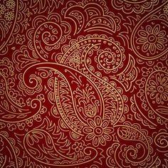 Diseño de cachemira (paisleys).