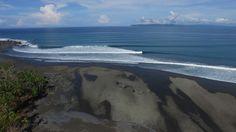 Aerial Video of Pavones, Costa Rica