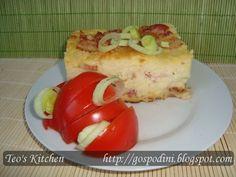 Sufle din piure de cartofi - Retete culinare by Teo's Kitchen