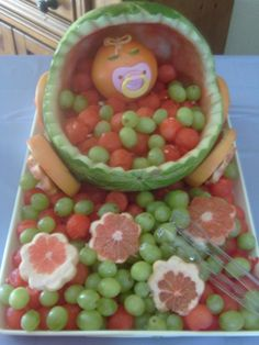 On pinterest watermelon carving watermelon boat and baby showers
