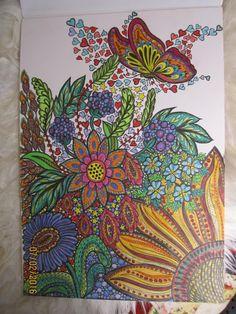 Zentangle, Doodle, Drawing, Zeichnen