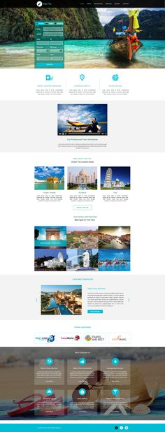 Sell365's Travel Template. One of the best Website Builder in India. Design and customize your own website with our free website templates.