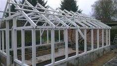 Montering af glas i drivhus/orangeri - Lav-Det-Selv.dk - Forum -