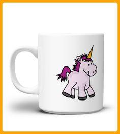 Cute Baby Unicorn Cartoon Mug - Einhorn shirts (*Partner-Link)